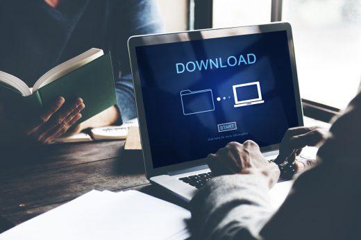Downloads & animations, brochure, logo